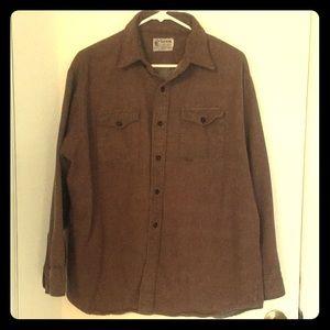 Vintage! The Alaskan, since 1895 button up shirt